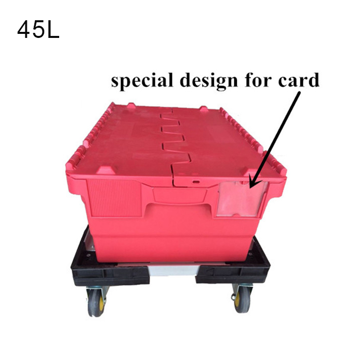plastic storage containers with wheels